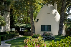 """""""The Tepee"""", Walter Temple's personal office"""