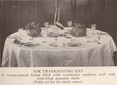 Table Decorations, 1924.