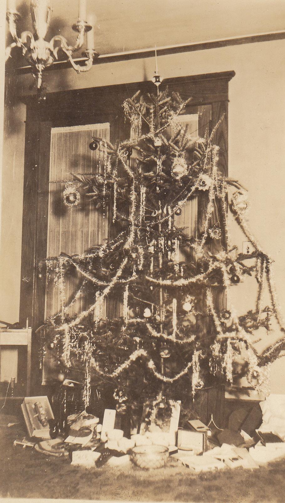 Christmas tree, 1927