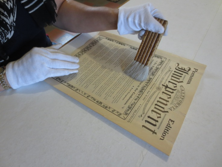 Learn why giving your precious documents a good, soft brushing does them a world of good at the White Glove Workshop.