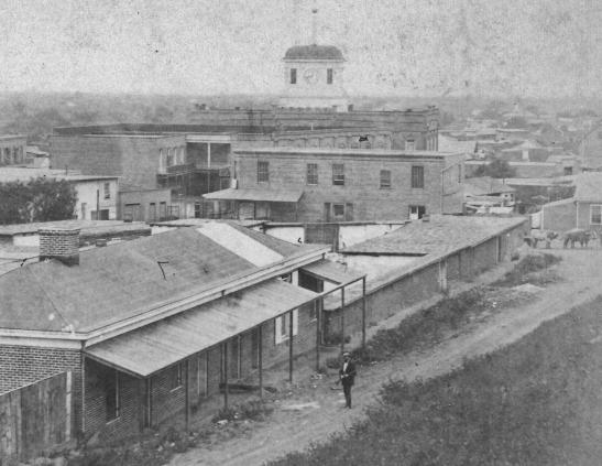 Godfrey LA from Fort Hill 1870 edit