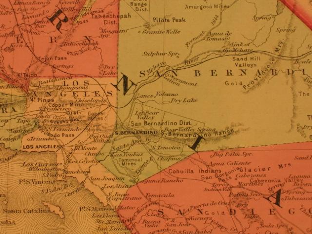 1866 map S. Calif.