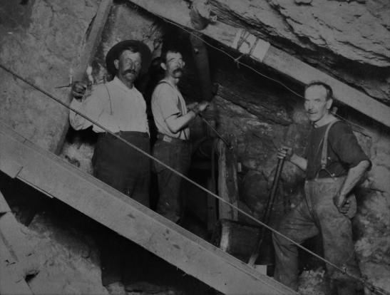 3rd Street tunnel construction 2 1900