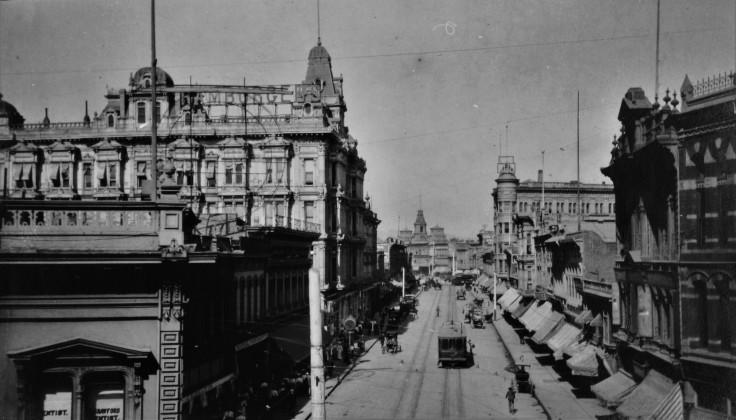 Main St LA 1890s