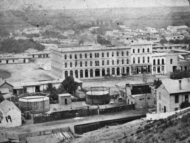 Plaza Pico Godfrey 1870