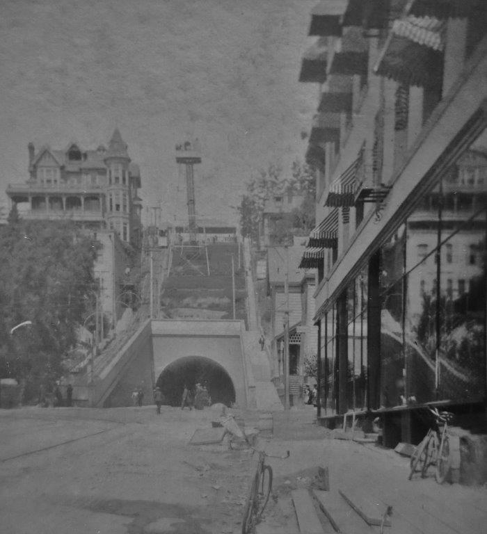 Third St Angels Flight SV 1900s