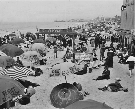 Venice beach ca 1910s