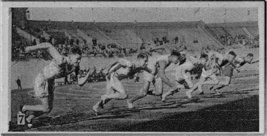 1928 Olympics 100 meter dash