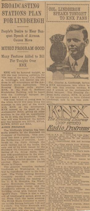 Ticket to the Twenties Themes: The History of Radio in Los