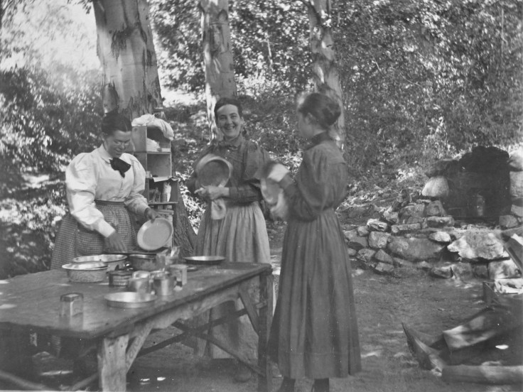 Camping San Gabriels 1900