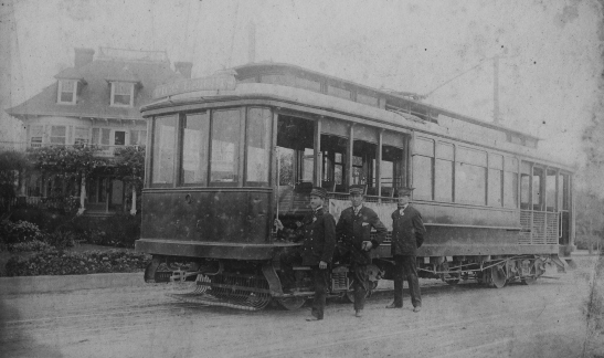 Los Angeles Railway car 1900s 2