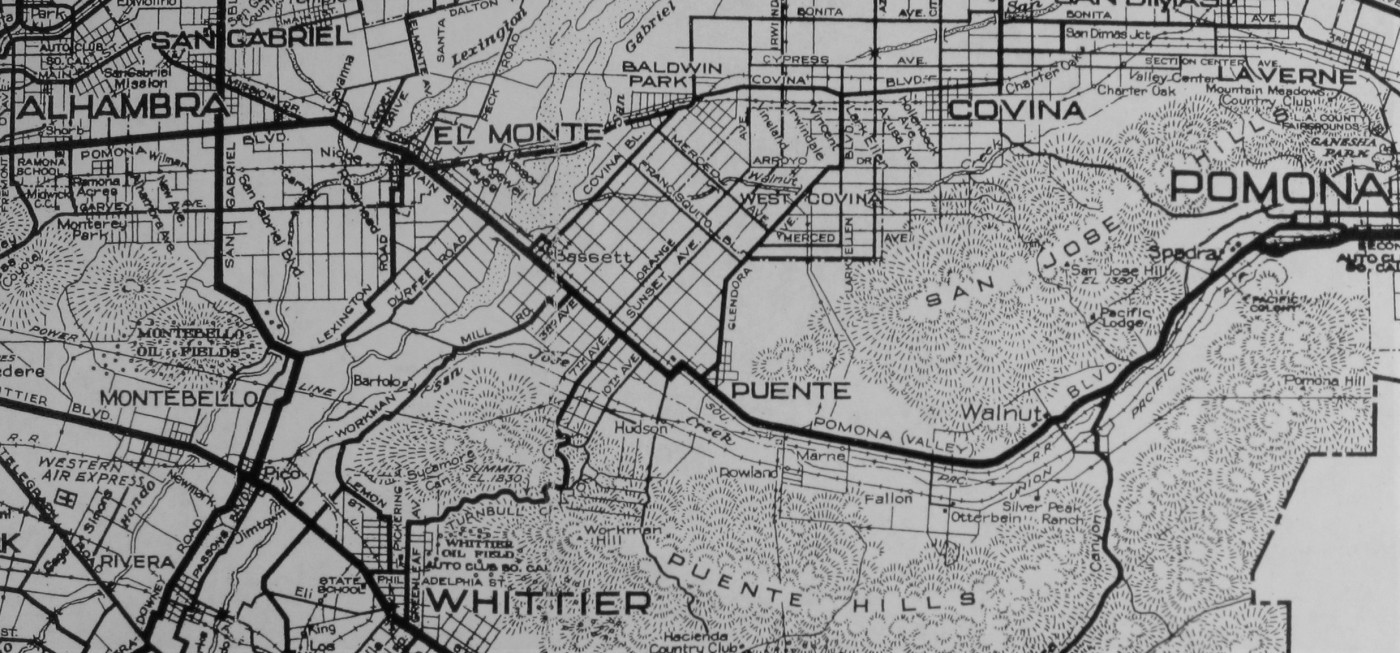All Over the Map in the Eastern San Gabriel Valley, 1923