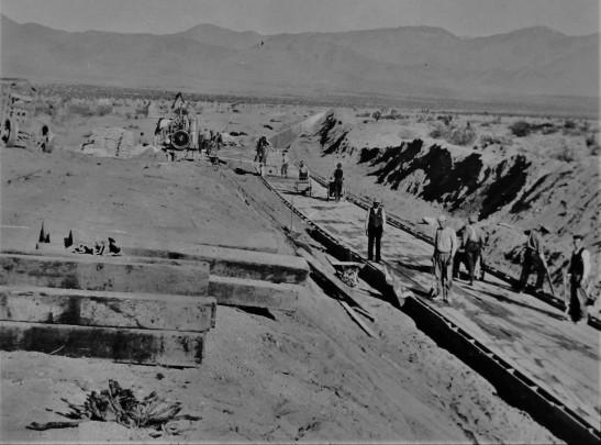 LA Aqueduct construction 3