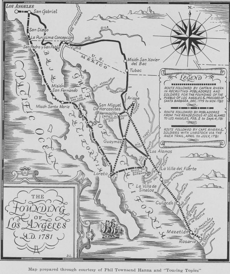 Pobladores map HSSC annual 1931