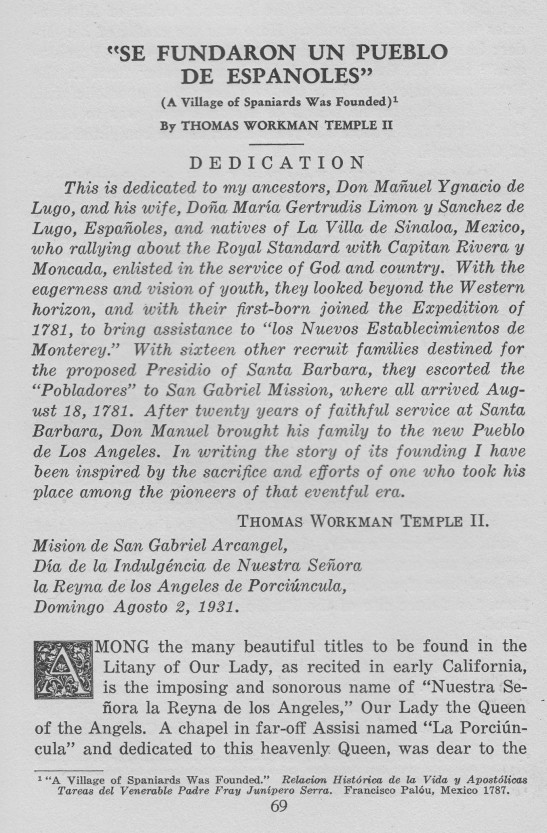 TWTII article HSSC annual 1931