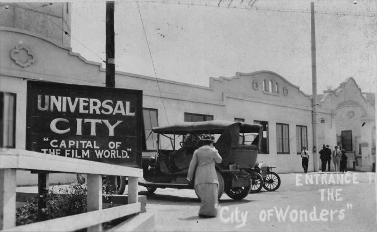 Universal Studios entrance 1914