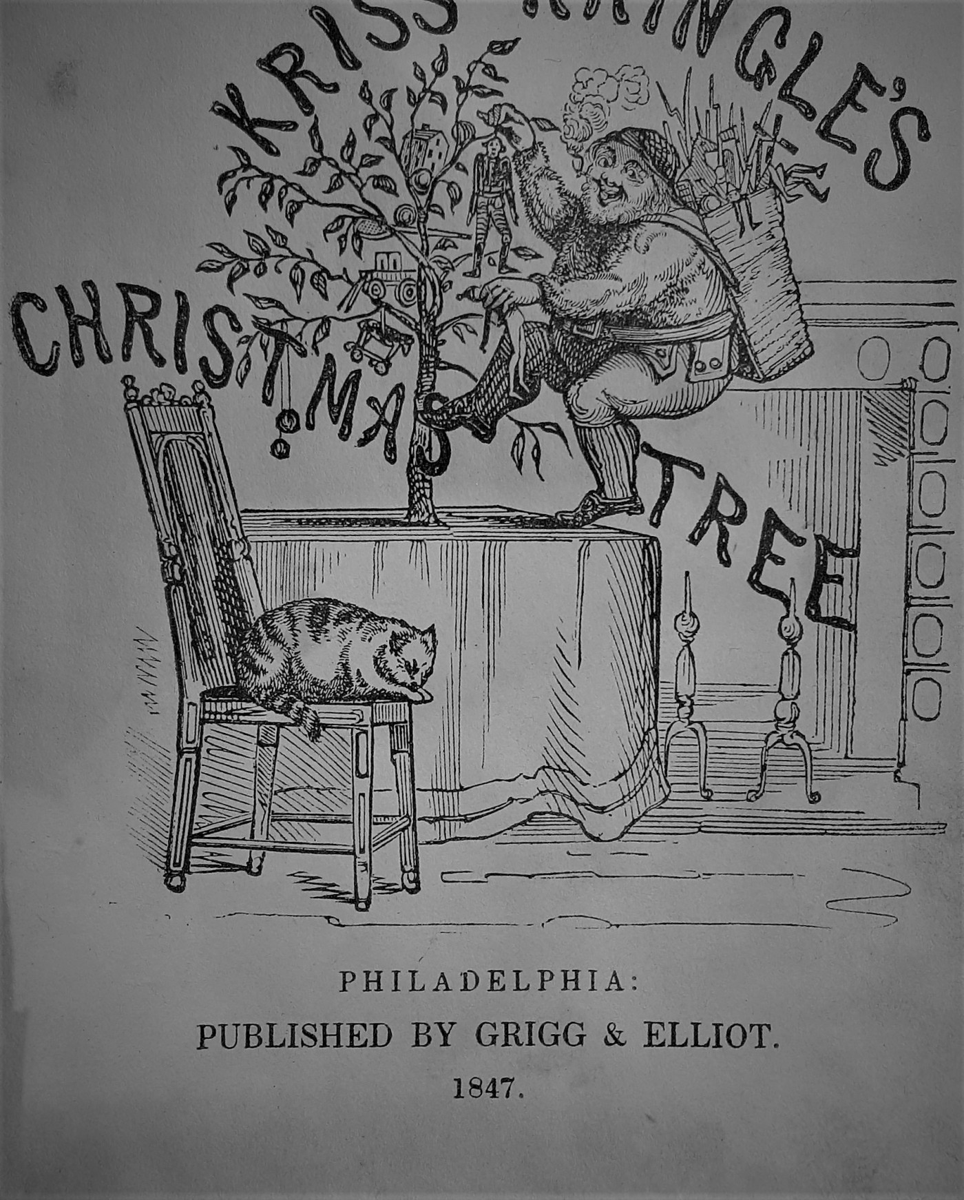 Kringles For Christmas.The Evolution Of Christmas Santa Claus In The Late 1840s