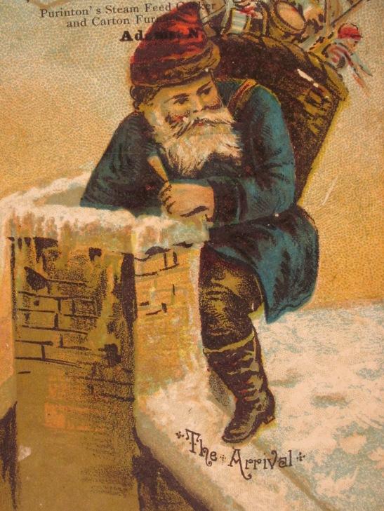 dwarf-santa-in-blue-at-chimney-1890s