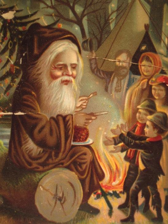 dwarf-santa-in-brown-w-kids-1890s