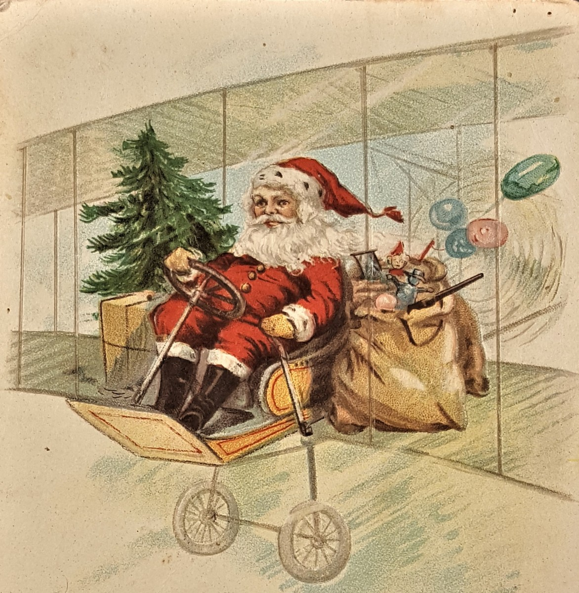 The Evolution of Christmas: Santa Claus from 1900-1920 ...