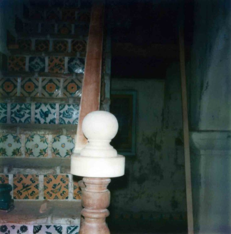 La Casa Nueva Courtyard Stairs Newel Post Replacement 99.5.33.84
