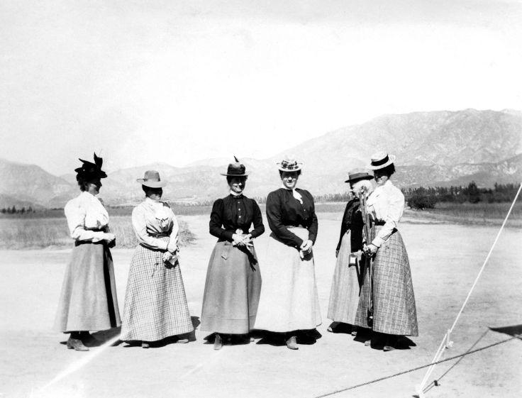 Six Women On Golf Outing San Gabriel Valley 2006.91.1.1