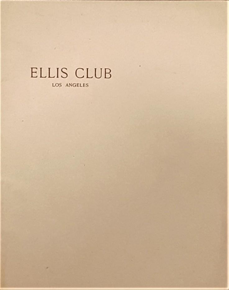 Ellis Club cover