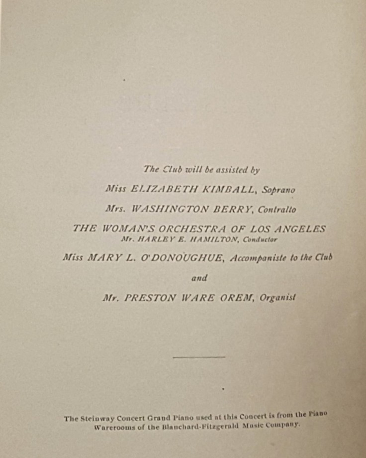 Ellis Club credits
