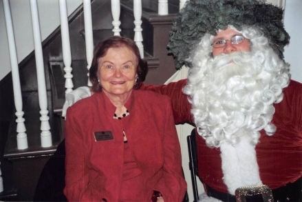 Ruth Green & Santa