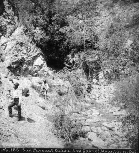 SV No 168 San Pascual Canon San Gabriel Mountains Cal 2010.438.1
