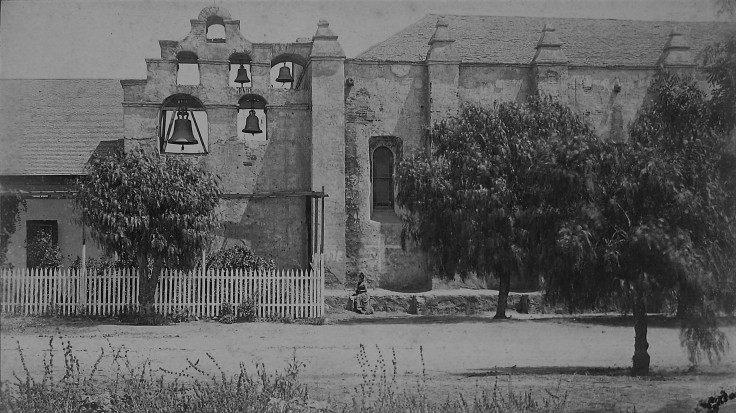 Church and bells SG Mission Pierce 1890s