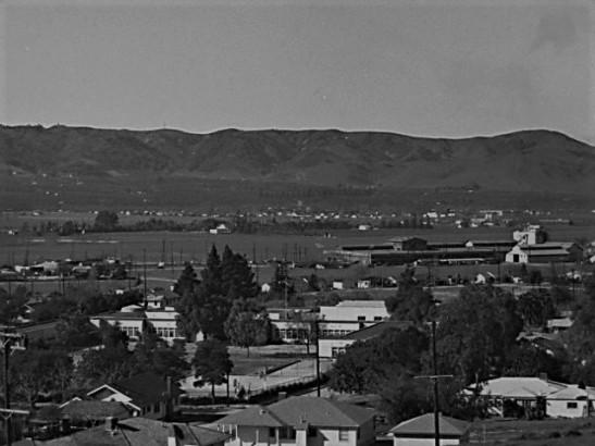 Puente Hill southwest 1940s