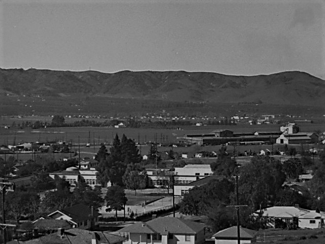 Puente Hill southwest 1940s