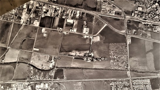 1Mar61 Homestead and surrounding area