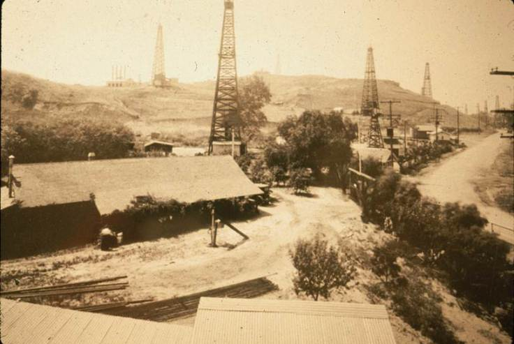 Basye Adobe Temple Oil Field 1920s