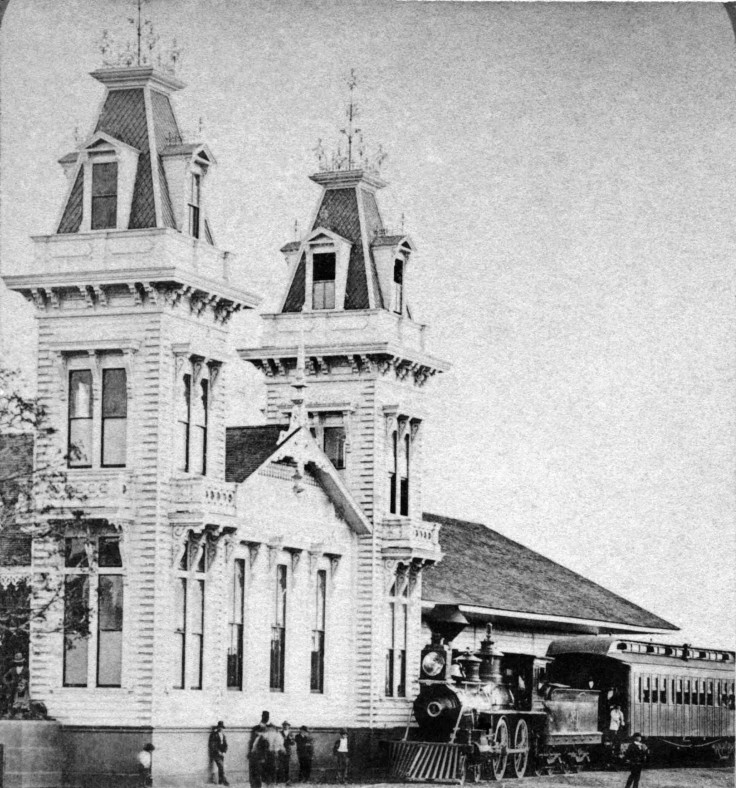 SV Los Angeles And Independence Railroad Depot California 2007.4
