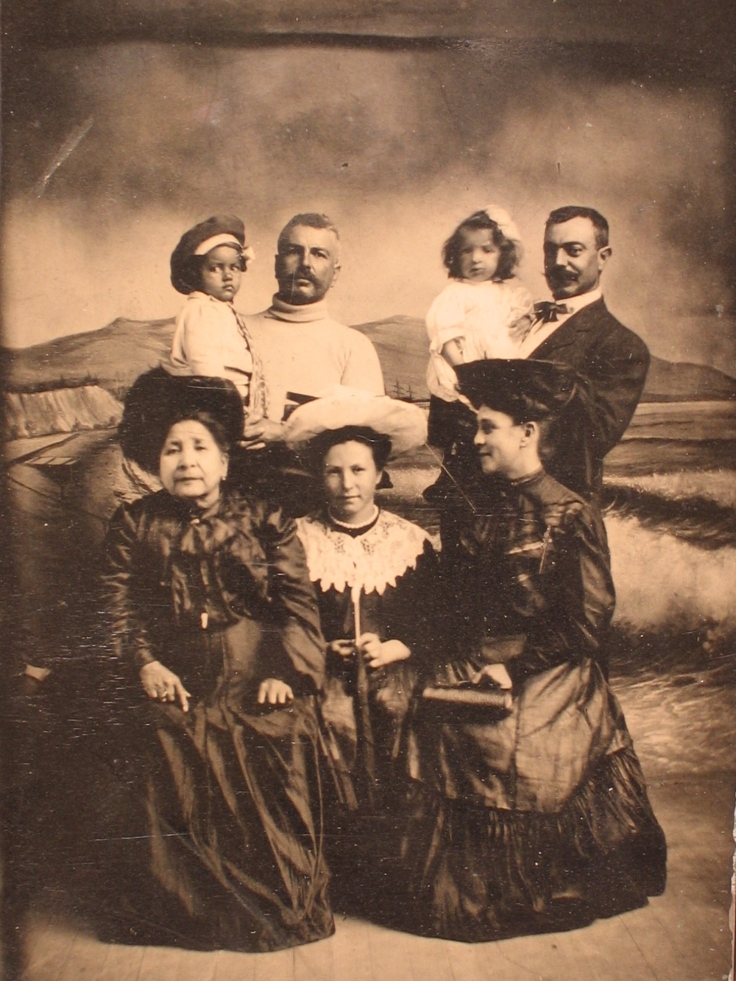 Charles Walter Temple families 1907