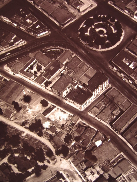 Plaza aerial 1910