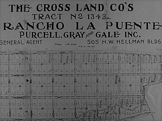 Time Capsule Tuesday: A 1910s Tract Map of Parts of the Future City on