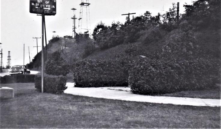 Mission SG Plaque site 1940s