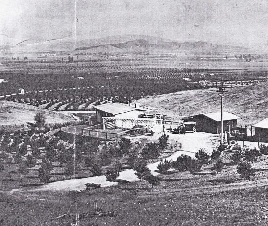 Russell home and valley 1920s