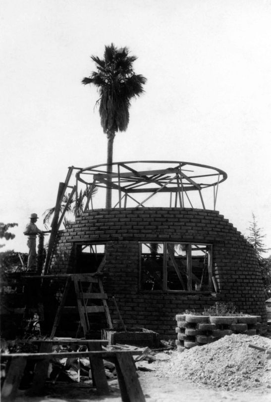 Tepee Construction From East 99.5.3.77