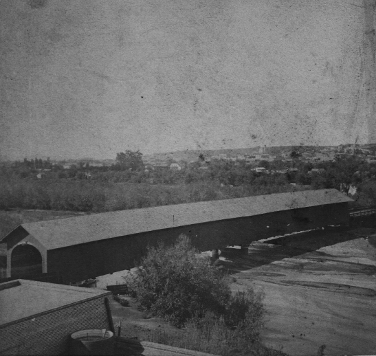 Aliso Street Bridge Payne 1870s 2