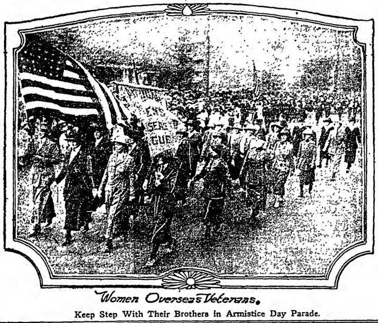 Women Vets in Parade_Times_Nov_12__1921_