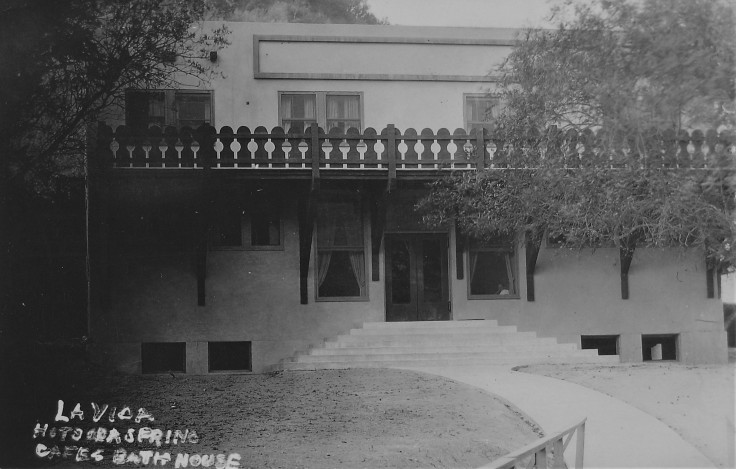 La Vida Mineral Springs bathhouse 1928 (3)