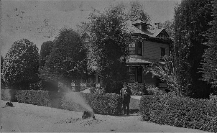 Rimpau House Anaheim Aug 1913
