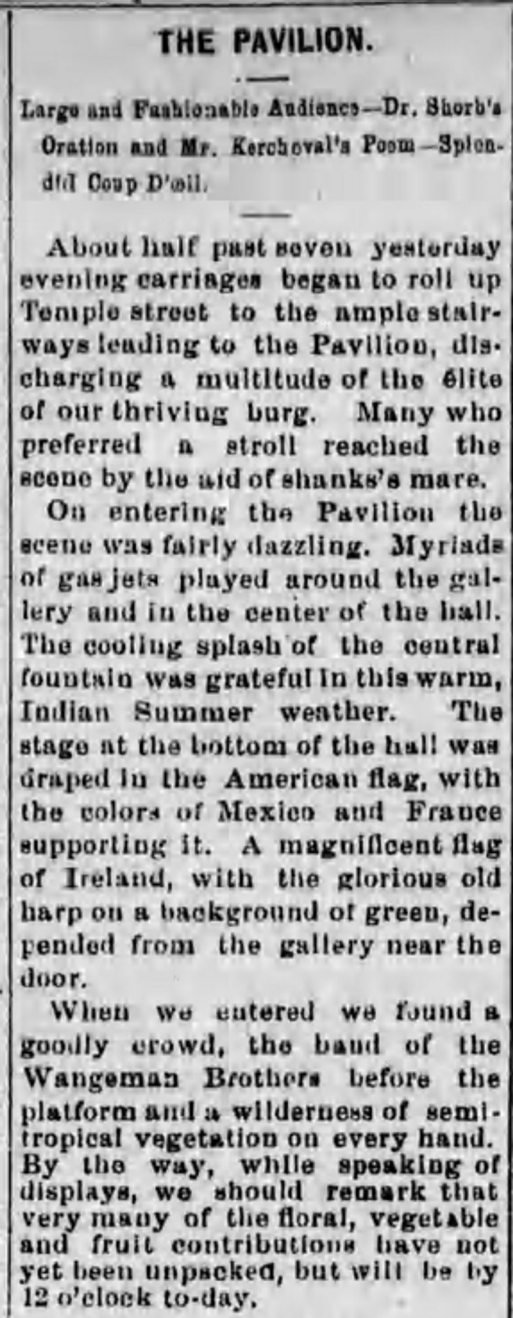 Horticultural Pavilion Opens LA_Herald_Oct_15__1878_