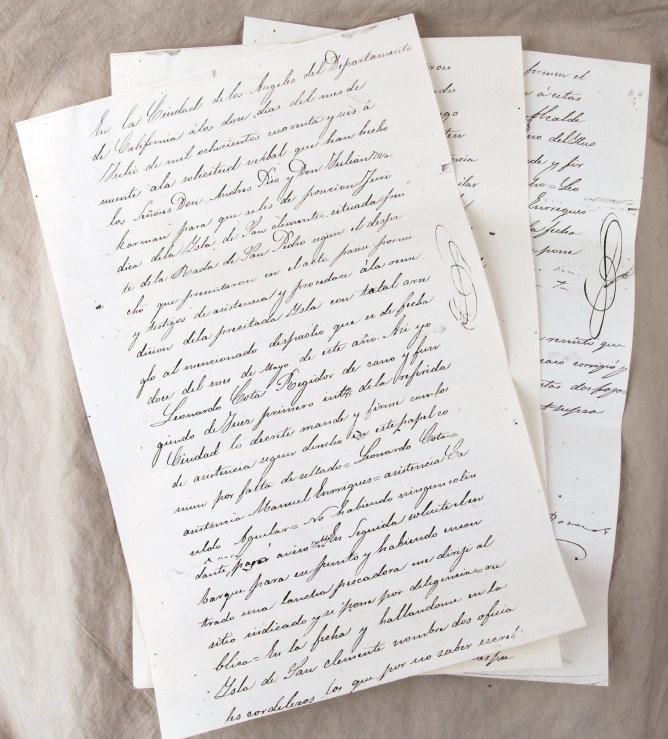 SC Island juridical possession copies