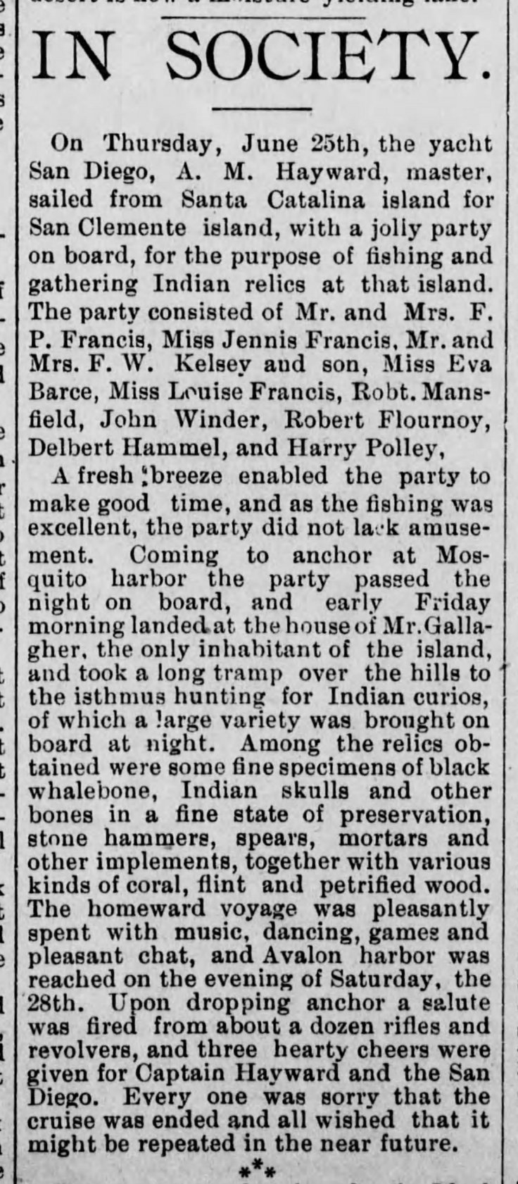 SC Island party Indian relics LA_Herald_Jul_1__1891_