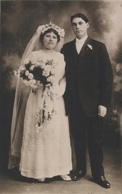 Fidele Amar Marie Didier wedding photo